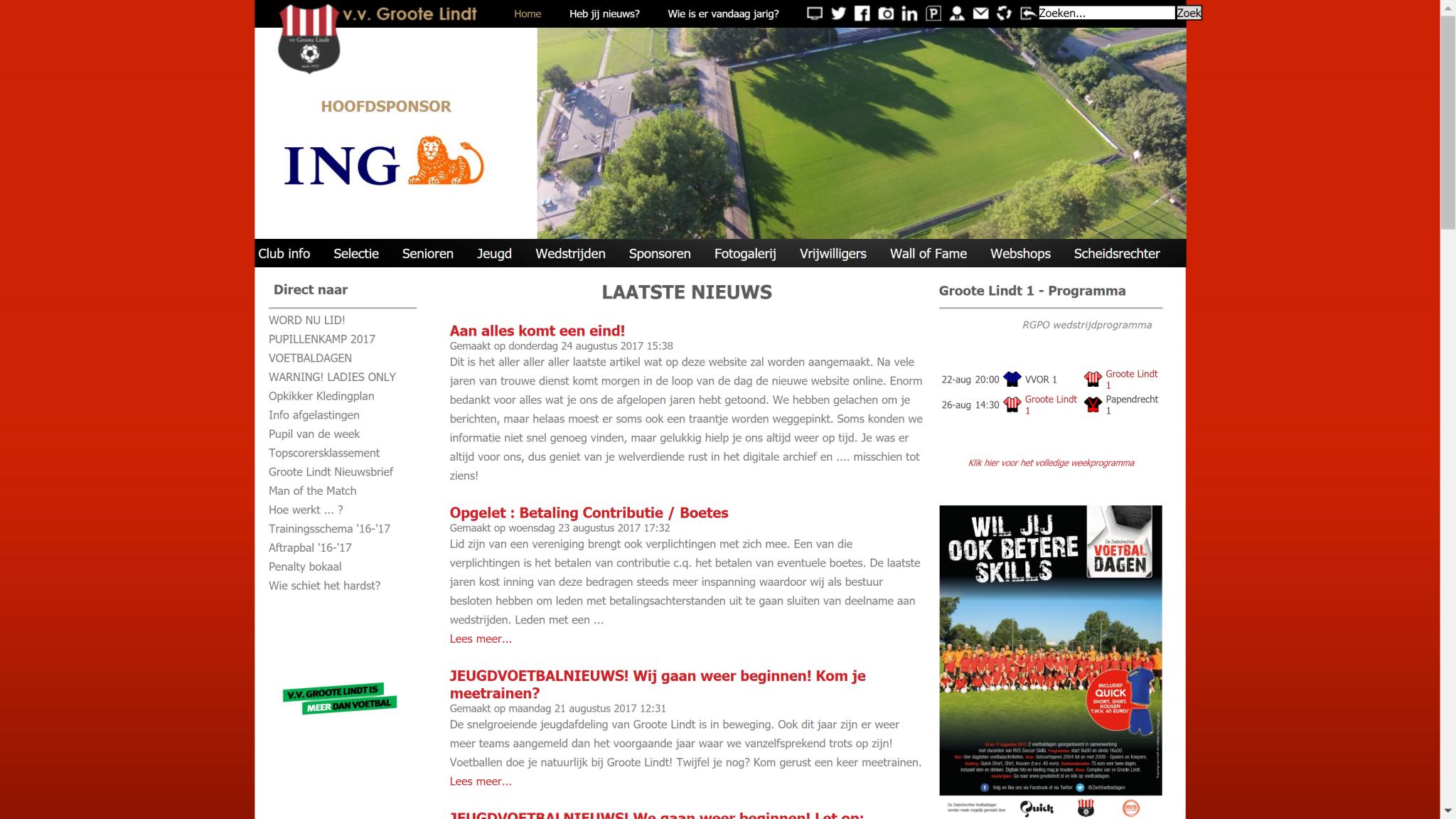 Performance website