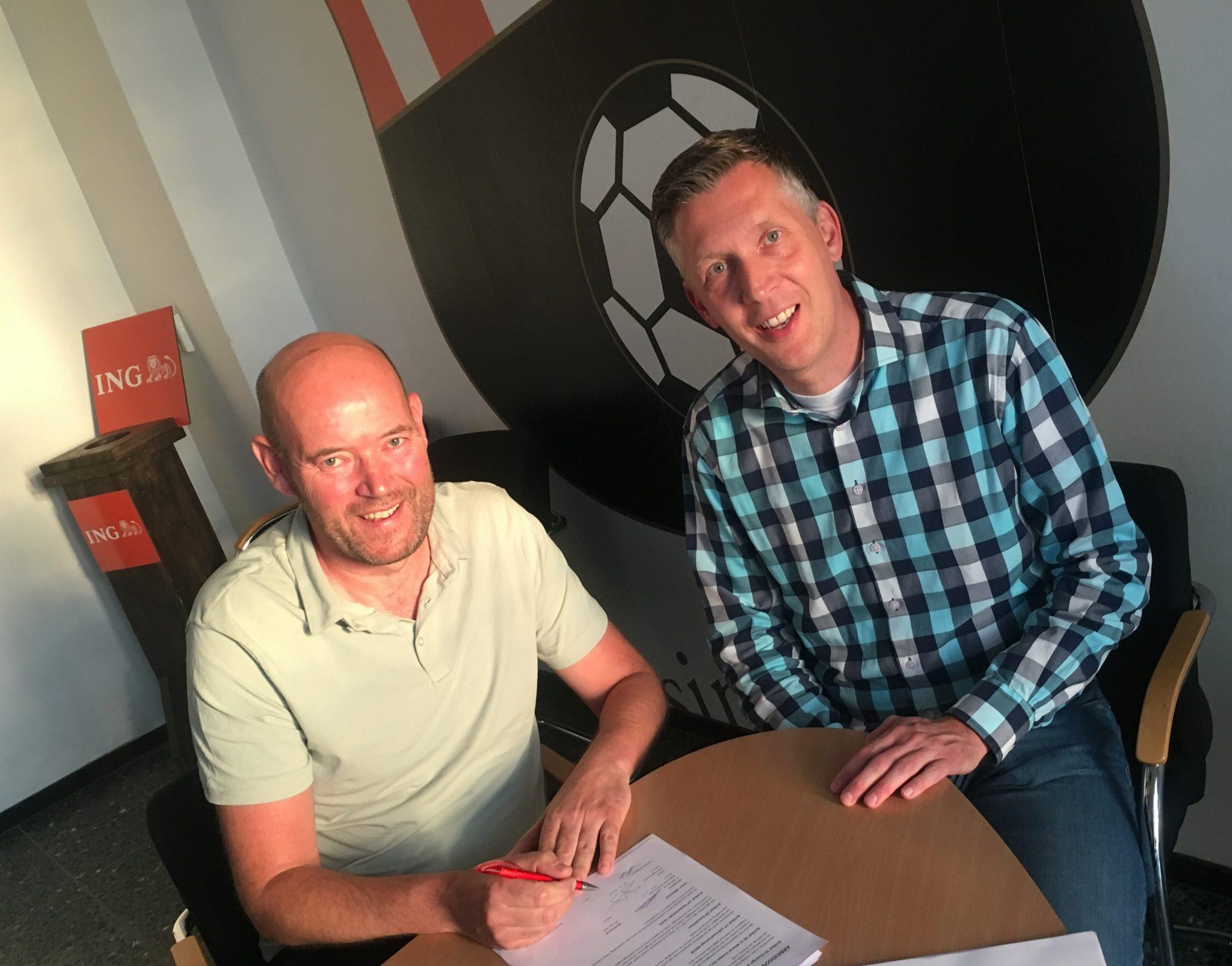 Groote Lindt heet Wout van Dijk welkom als trainer van Groote Lindt 3