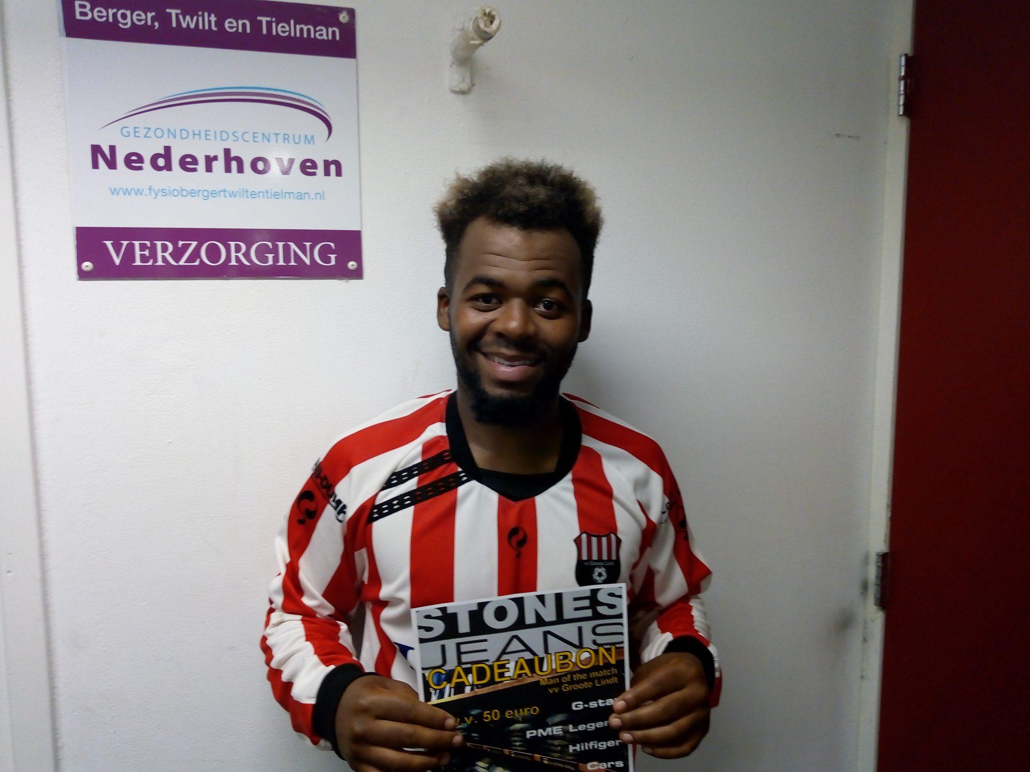 Man of the Match, zaterdag 28 september 2019