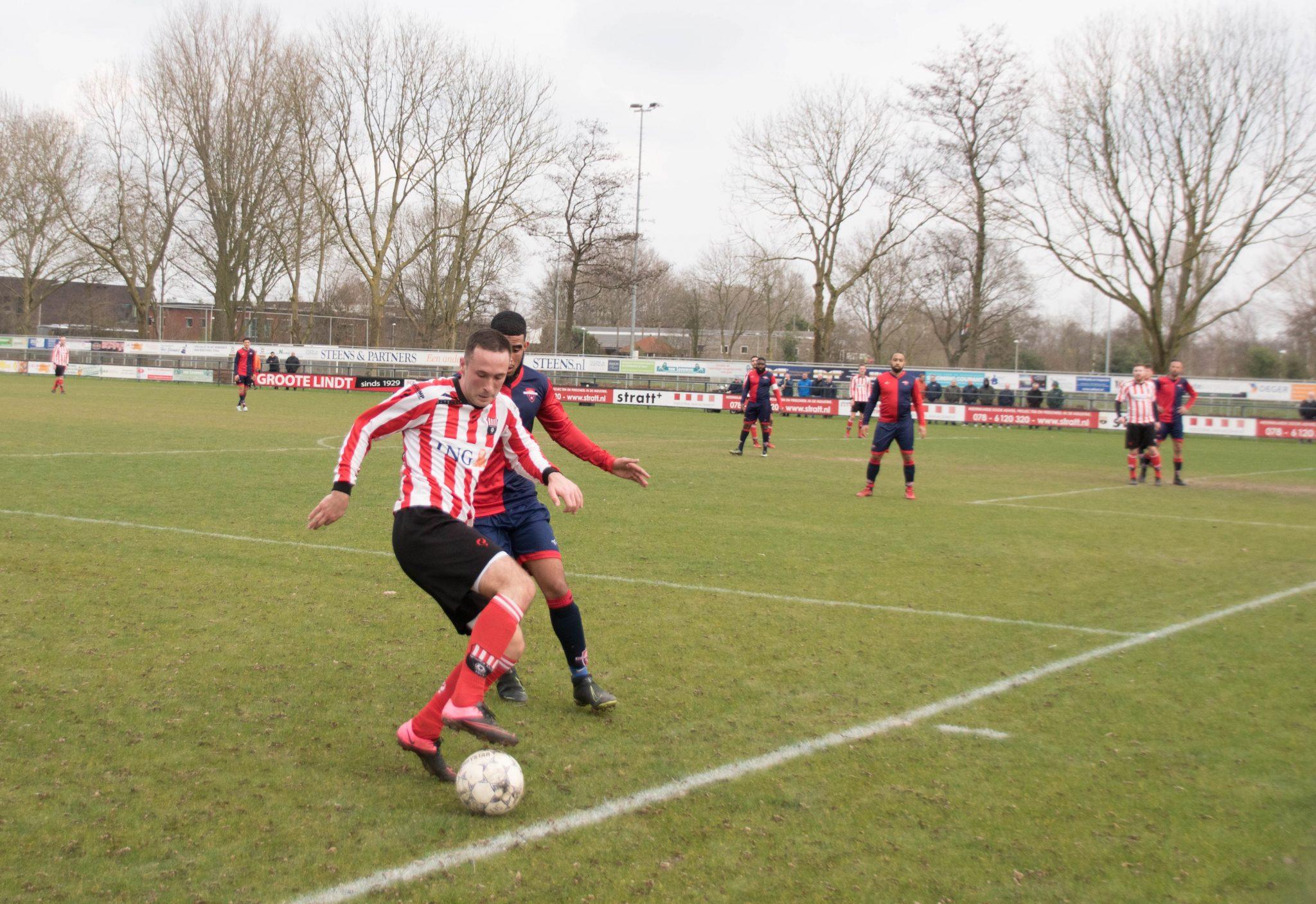 FC IJsselmonde biedt Groote Lindt weinig weerstand