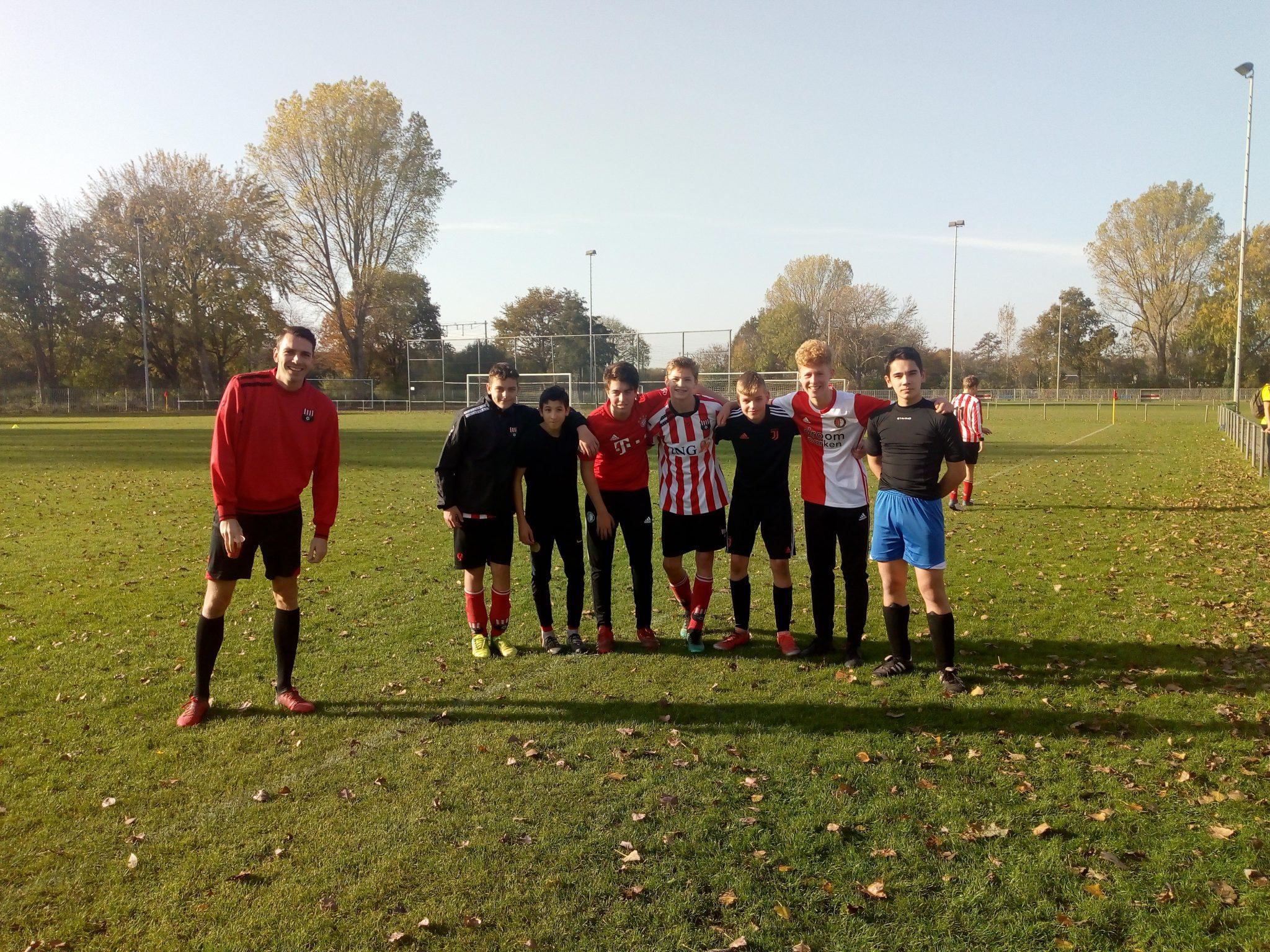 Team Marcel wint 6-6 toernooi