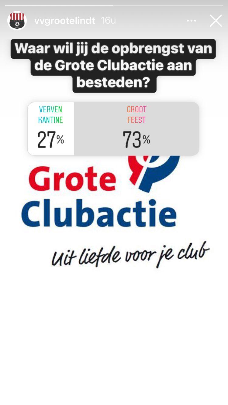 Doel Gro(o)te Clubactie wordt ..... een groot feest!