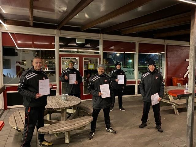 Jeugdtrainers behalen het KNVB JVTC certificaat.